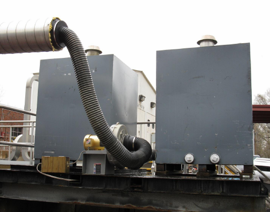 H2S & Ammonia Treatment System Using Activated Carbon