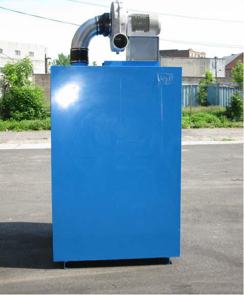 Activated Carbon Adsorber with Top Mounted Fan