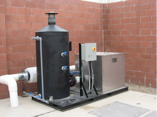 Activated Carbon Odor Control System