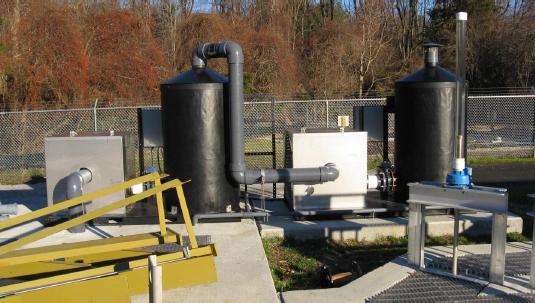Dual Pass Odor Control System