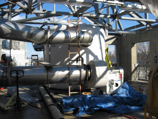 Activated Carbon FRP Odor Control Vessel