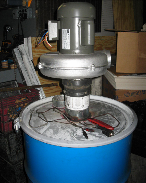 GC F-55 Activated Carbon Air Pollution Barrel