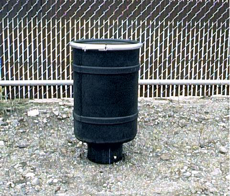 Small Activated Carbon Adsorber