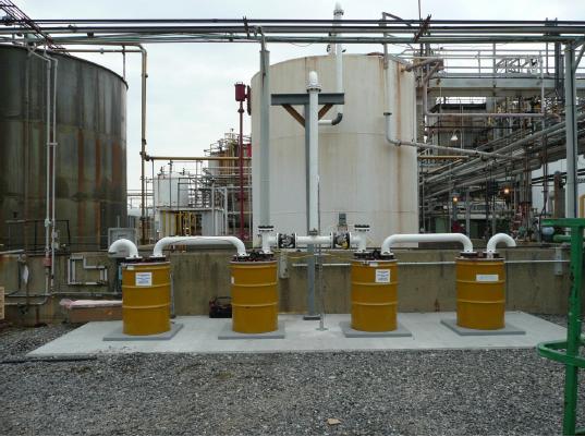 Activated Carbon Air Pollution Control Barrels
