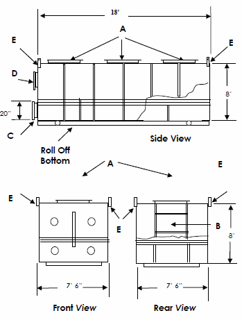 Roll-Off Adsorbers Spec Sheet
